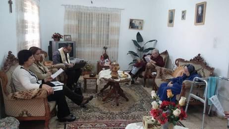 دورة الميلاد 2015 - زيارة المرضى والمسنين