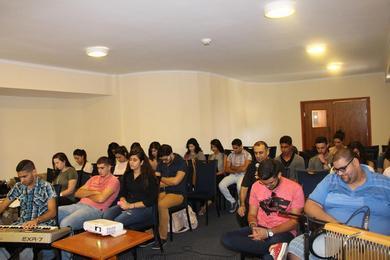 مؤتمر الطلاب الجامعيين والعاملين 2016- اليوم الاول