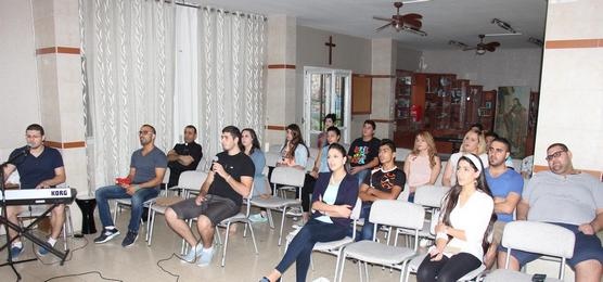 لقاء خاص للشبيبة الثانوي الجامعي والعاملين - 10-2016