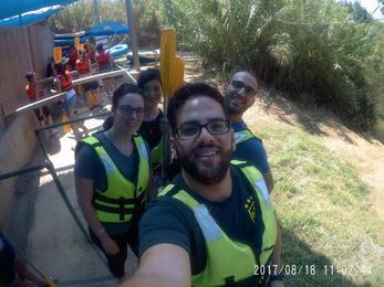 رحلة الشبيبة الثانوي الجامعي والعاملين الى الكياكم - 2017