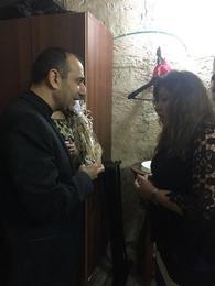 اجتماع اربعاء مع المرنمة منال سمير 2017