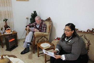زيارة المرضى والمسنين - 2019