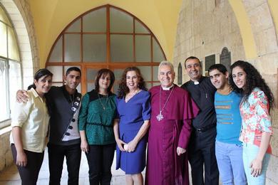 خدمة العنصرة في القدس 2014