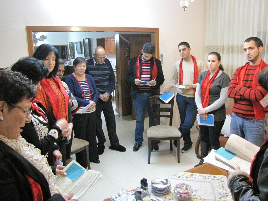 دورة الميلاد 2012- كفرياسيف وابوسنان-2