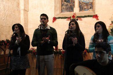 اللقاء الميلادي للعائلات 2013