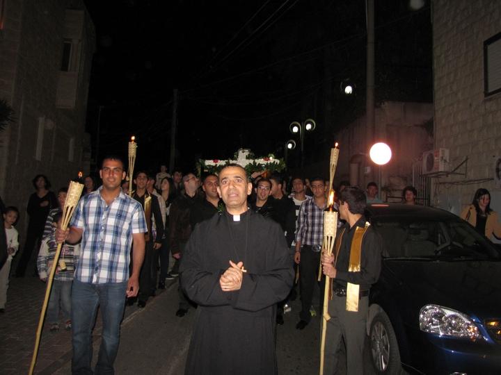 مسيرة الكنائس - الجمعه العظيمه 2012