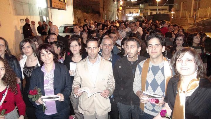 الجمعه العظيمه 2011- مسيرة الكنائس-1