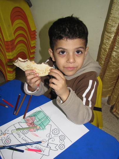 الاطفال في حفلة عيد الام 2011