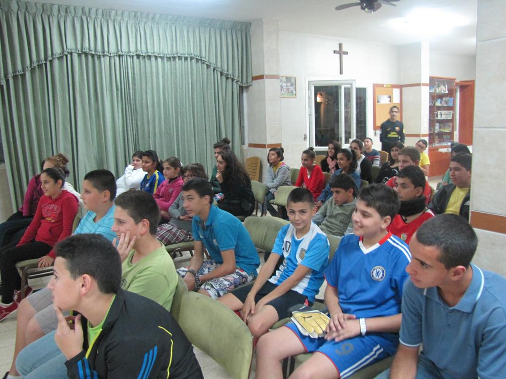 مُسابقة كرة قدم للشبيبة الاعدادي 2012